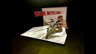Mission:Impossible Drawing 3D art with colored pencils