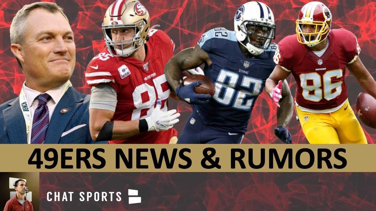 49ers News: John Lynch Extension, George Kittle Update + 49ers Calling Jordan Reed & Delanie Walker?