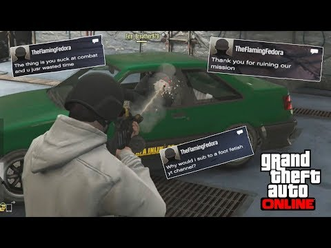 A WHOLE HOUR KILLING SPREE [GTA 5 Online Killing Other Players and Chill] #2