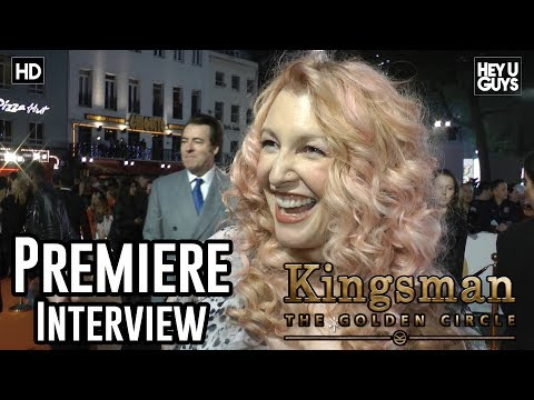 Screenwriter Jane Goldman Premiere Interview | Kingsman: The Golden Circle