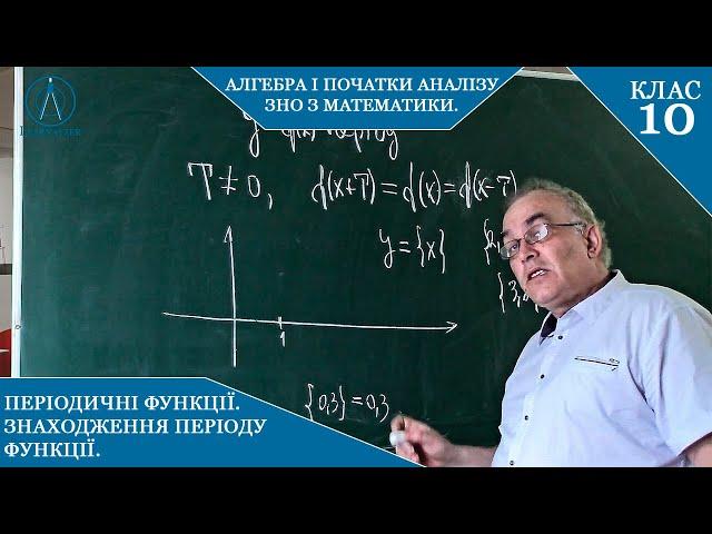 10 клас. Алгебра. ПЕРІОДИЧНІ функції. Знаходження періоду функції.