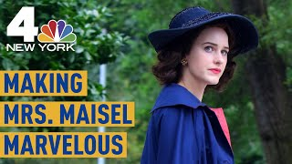 """Inside the NYC Museum Exhibit Dedicated to """"The Marvelous Mrs. Maisel"""" 
