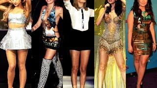 Taylor Swift vs Selena Gomez vs Miley Cyrus vs Demi Lovato vs Ariana Grande (on The Ellen Show)