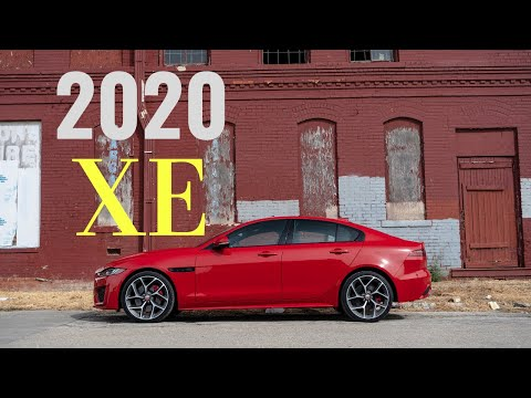Finally Better Than The 3 Series?! | 2020 Jaguar XE P300 Review | Forrest's Auto Reviews