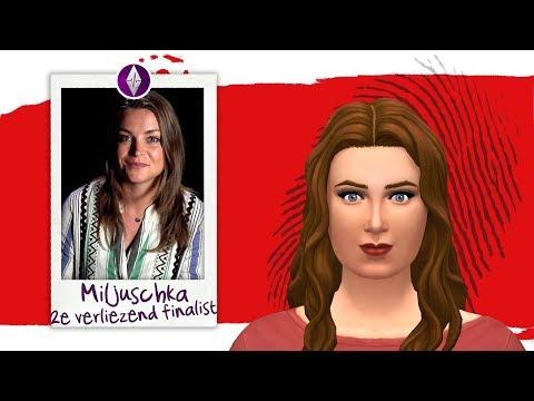 Miljuschka Witzenhausen ▸ Verliezend Finalist Wie Is De Mol? 2020 🤔 Creëer Een Sim ◊ De Sims 4