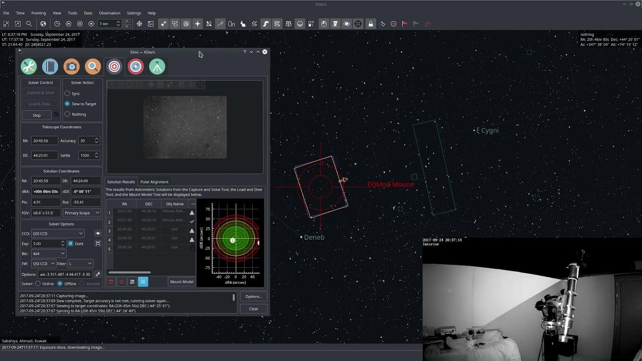 Auto Meridian Flip with StellarMate