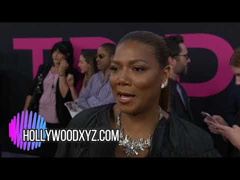 Queen Latifah Full Red Carpet Interview Girls Trip