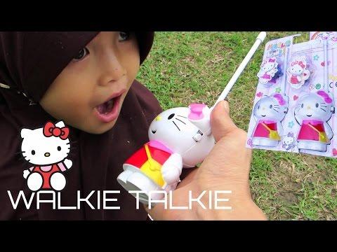 Funny Hello Kitty Walkie Talkie Kids Toy @LifiaTubeHD