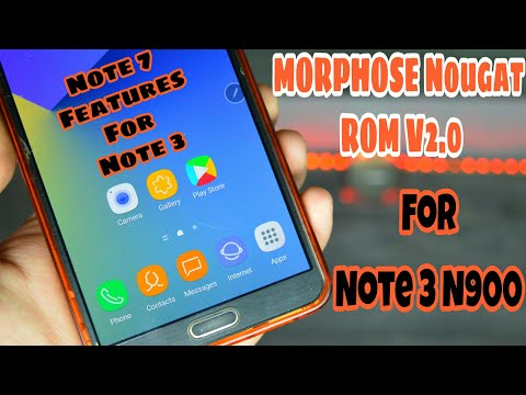 Galaxy Note 7/S8 ROM for Galaxy Note 3 N900 - How To Install