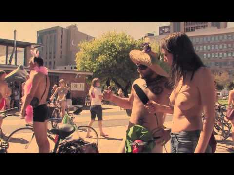 Cape Town Naked Bike Ride 2012