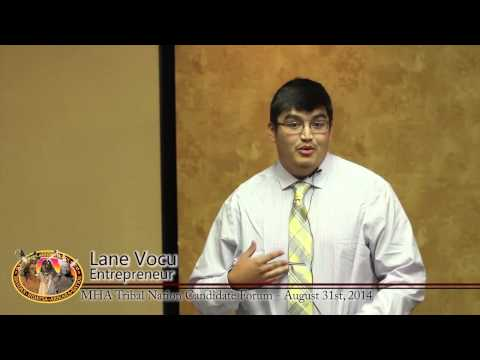 MHA Tribal Chairman Introductions - Lane Vocu