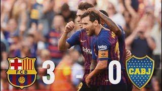 Barcelona vs Boca Juniors [3-0], Joan Gamper 2018 - MATCH REVIEW