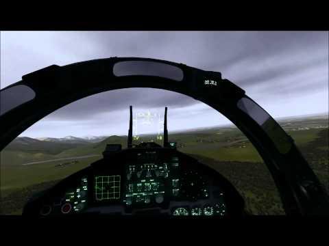 DCS F15C Strike on AWACS