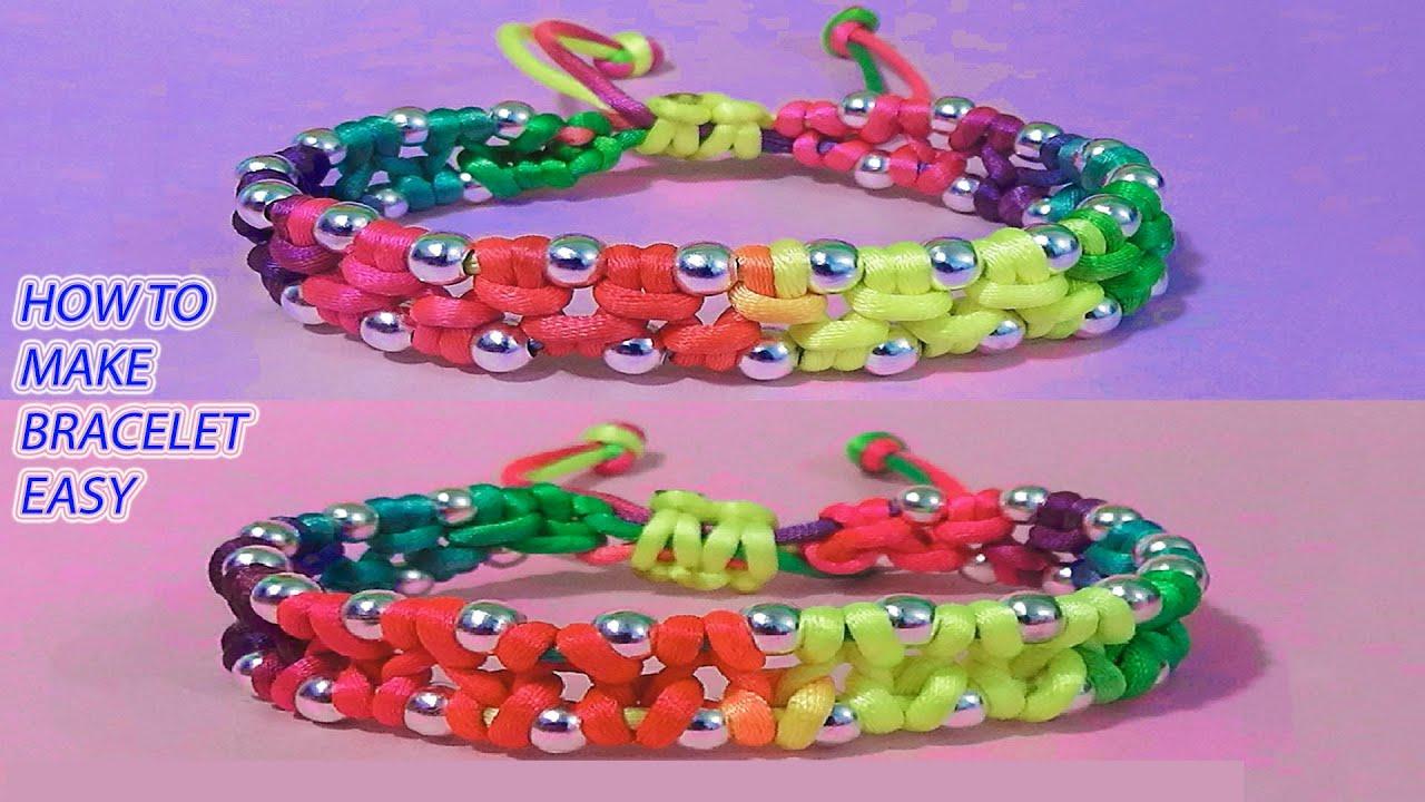 BraceletBeaded braceletsHow to make braceletsfriendship