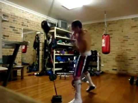 Boxing Handspeed Speedball Floor Ceiling Ball Combinations Youtube