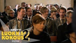 Luokkakokous 2 - Polttarit elokuvateattereissa 2.11. (10 sek spotti)