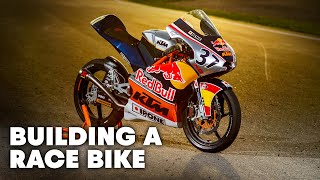 Beauty of the Build: Building The Red Bull MotoGP Rookies Cup KTM RC 250R Motorcycle