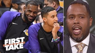 LeBron, Lakers can give Warriors a run for their money - Damon Jones | First Take