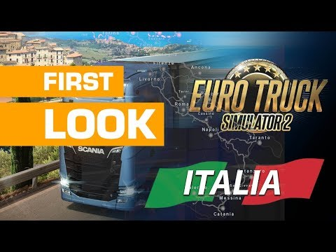Euro Truck Simulator 2 - Italia DLC First Look
