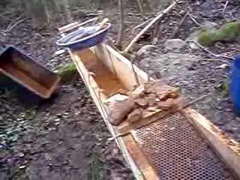 bygga egen vaskränna