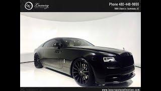 Ss6591 | 2017 Rolls-Royce Wraith | For Sale Scottsdale, Az