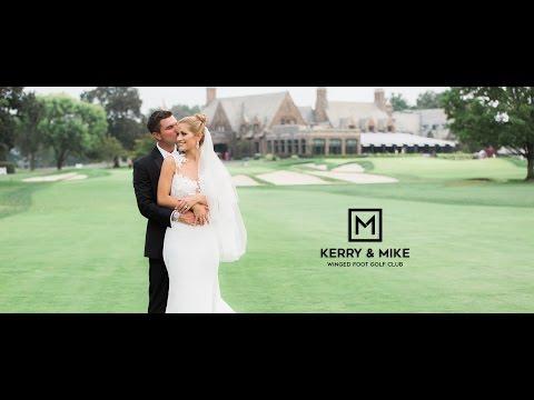 Winged Foot Golf Club Wedding - Kerry & Michael