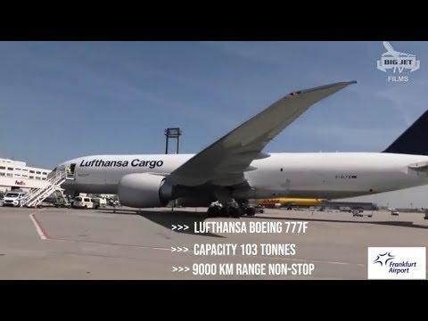 FRANKFURT AIRPORT ~ CARGO CITY FREIGHT HUB SHORT FEATURE FILM