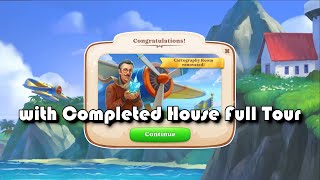 Manor Matters Full House Complete - Full Tour - The Cartography Room - Day 6