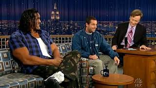 Conan O'Brien 'Adam Sandler & The Great Khali (part-2) 5/26/05