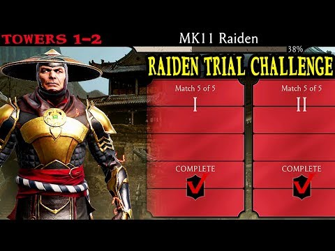 Mortal Kombat Mobile. MK11 Raiden Trial Challenge Gameplay And Review. Towers 1-2. He Is SO FAST!