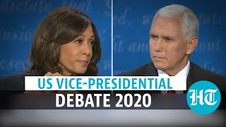 Mike Pence Vs Kamala Harris: Full vice-presidential debate | US Election 2020