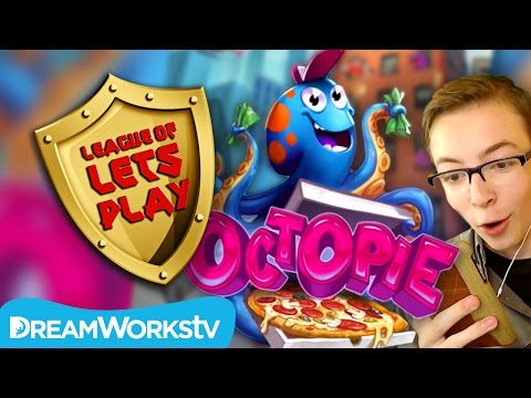 OctoPie - A Game Shakers App SECRET LEVEL Revealed | LEAGUE OF LET'S PLAY