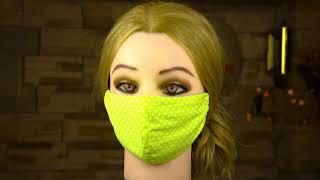 Маска для лица своими руками От коронавируса и гриппа