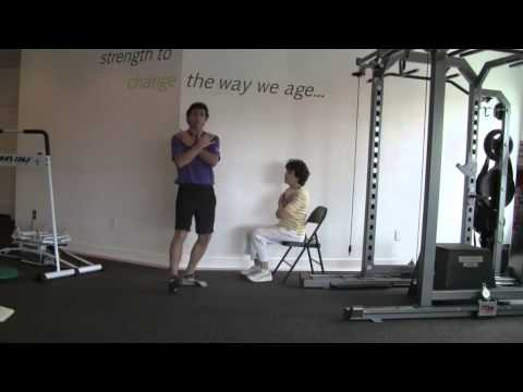 Chair Sit And Reach Test by agefaster