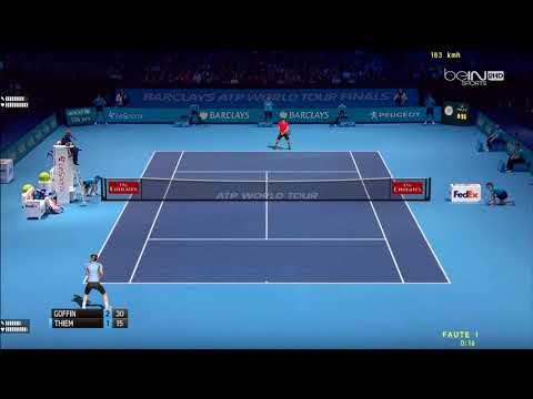 Tennis Elbow 2013 | ATP World Tour Finals 2017 | Groupe Sampras | Thiem vs Goffin