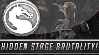 Mortal Kombat X: Hidden Dead Woods Stage Brutality - Secret Fatality Showcase! (Mortal Kombat 10)