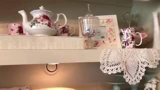 Tea Cup & Tea Pot Collection Display