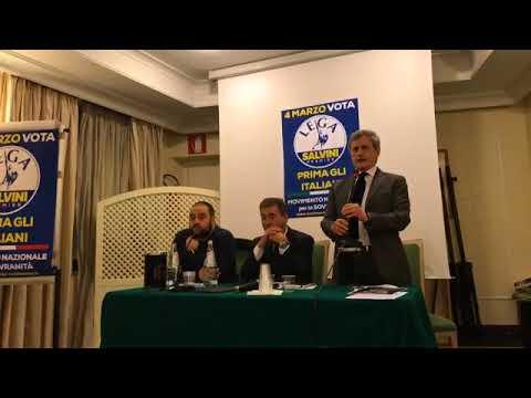Gianni Alemanno et al. — Ecco perché il MNS ha scelto la Lega di Salvini (05/02/2018)