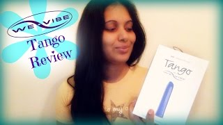 WE-VIBE TANGO Vibrator Unboxing+Review!!!