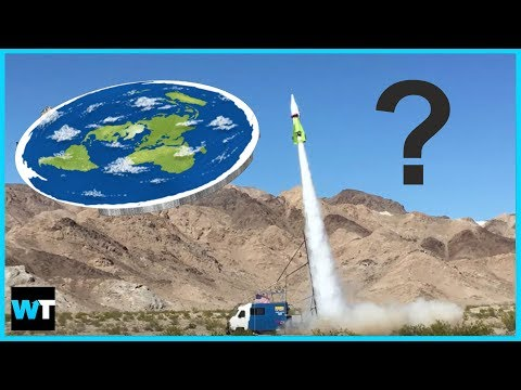 Daredevil Blasts Off In Rocket To Prove EARTH IS FLAT?! | What's Trending Now!