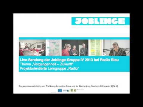 Joblinge-Leipzig: Live-Sendung bei Radio Blau