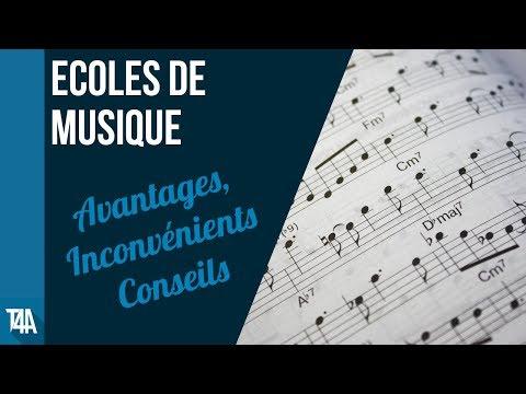 Ecoles de musique : avantages, inconvénients, conseils