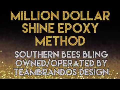 Updated Million Dollar Shine Epoxy Method