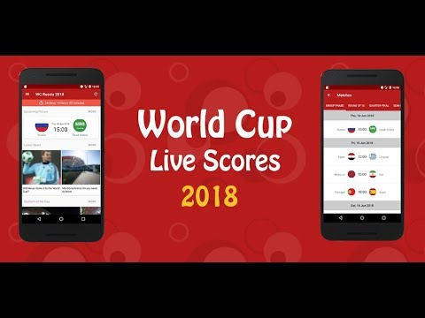 Free Application to Watch World Cup russia 2018