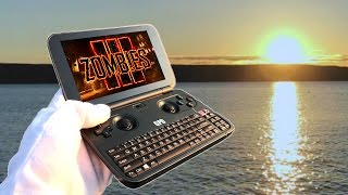BLACK OPS 3 ZOMBIES HANDHELD GAMEPLAY! Portable GPD Call of Duty BO3