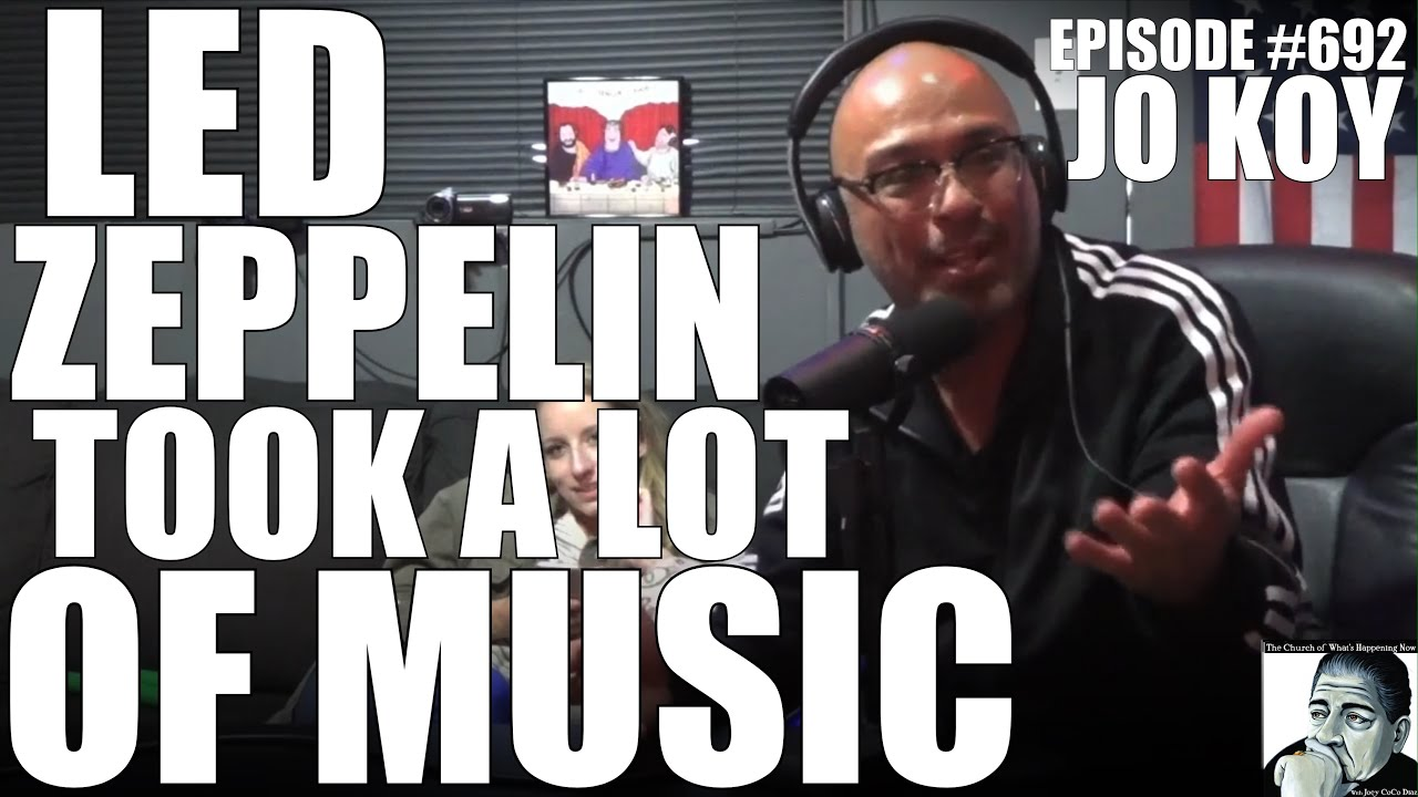 They MOTIVATED ME to STEAL MORE! From Led Zeppelin to Tony Robbins w/ Jo Koy & Joey Diaz!