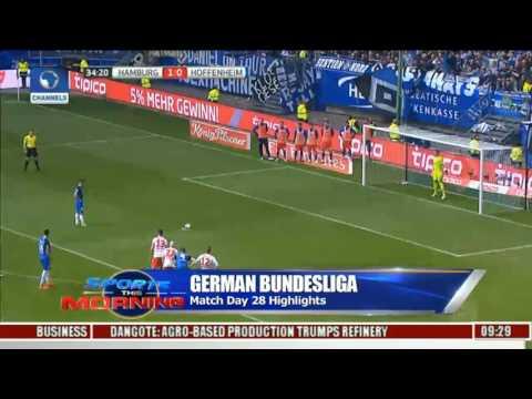 German bundesliga: match day 28 highlights