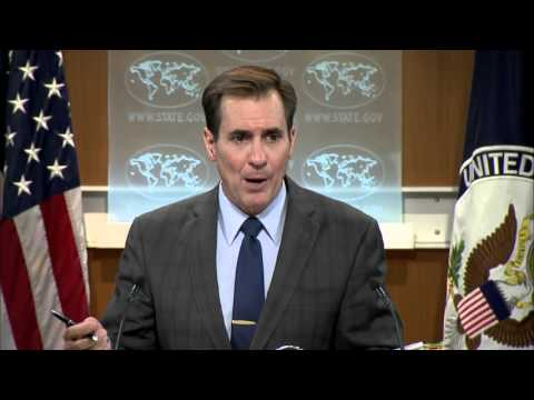State Dept: Is sending US troops to Syria a breach of sovereignty? 28 Apr 2016