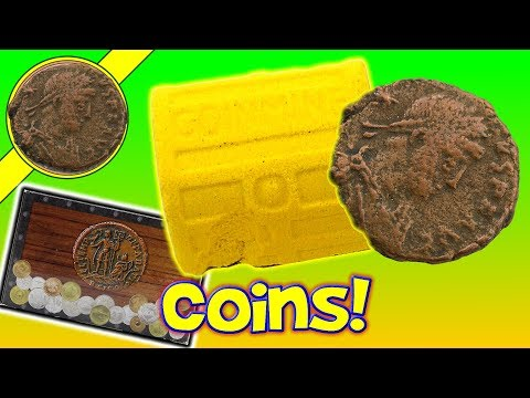 Dig Toys Coin Mine - Do I Find A Roman Bronze Coin AD 306? Coin Hunters Rejoice!