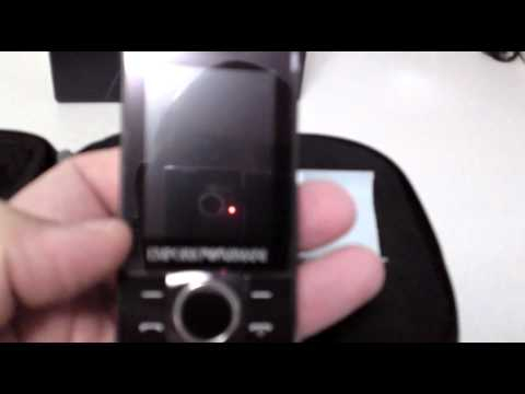 SAMSUNG M7500 EMPORIO ARMANI Unboxing Video - Phone in Stock at www.welectronics.com